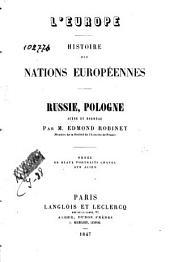 Russie, Pologne, Suède et Norvège