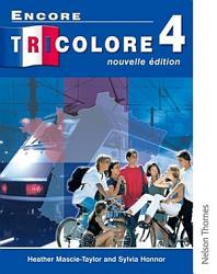 Encore Tricolore Nouvelle 4 Student Book Book PDF