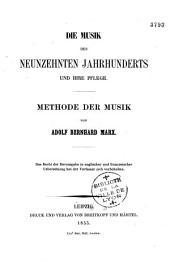 Die Musik des neunzehnten Jahrhunderts und ihre Pflege,...
