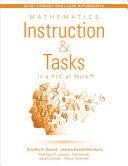 Mathematics Instruction and Tasks in a PLC at Work PDF
