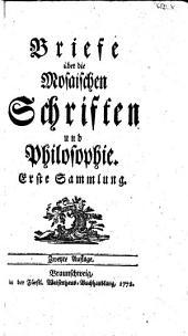 Briefe über die mosaischen Schriften und Philosophie, 1. Sammlung