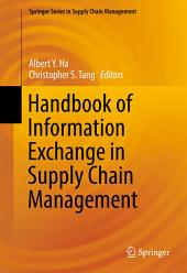 Handbook of Information Exchange in Supply Chain Management
