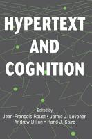 Hypertext and Cognition PDF