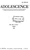 Adolescence PDF