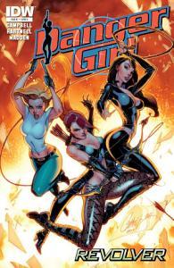 Danger Girl  Revolver  1 Book
