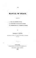 The Manual of Peace PDF