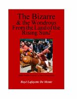 The Bizarre and the Wondrous from the Land of the Rising Sun  PDF