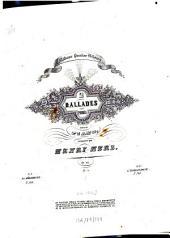 2 ballades sans paroles: pour le piano ; op. 117, Volume 1