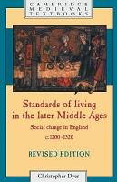 Standards of Living in the Later Middle Ages PDF