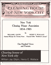 Clearing House of New York City: New York Clearing House Association, 1854-1905