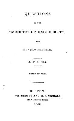 Questions on the  Ministry of Jesus Christ  PDF