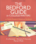 The Bedford Guide for College Writers With Reader  Research Manual  and Handbook   Documenting Sources in MLA Style 2009 Update  a Hacker Handboks