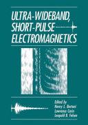 Ultra Wideband  Short Pulse Electromagnetics