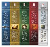 George R. R. Martin's A Game of Thrones 5-Book Boxed Set (Song of Ice and FireSeries) : A Game of Thrones, A Clash of Kings, A Storm of Swords, A Feast for Crows, andand A Dance with Dragons
