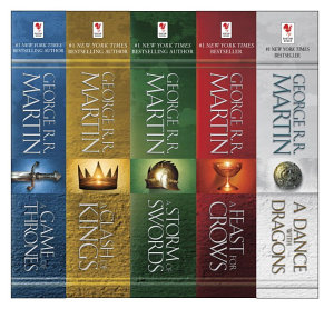 George R  R  Martin s A Game of Thrones 5 Book Boxed Set  Song of Ice and Fire Series