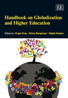 Handbook on Globalization and Higher Education PDF