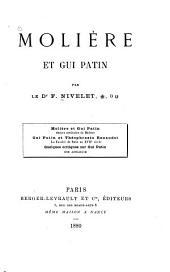 Molière et Gui Patin