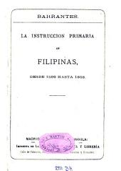 La instruccion primaria en Filipinas