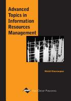 Advanced Topics in Information Resources Management  Volume 1 PDF