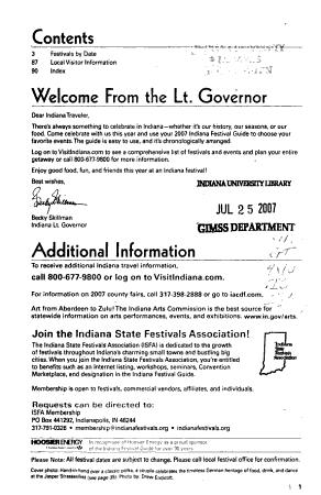 Indiana Festival Guide PDF