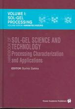 Handbook of sol gel science and technology  1  Sol gel processing PDF