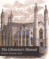The Librarian s Manual PDF