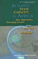 Building State Capacity in Africa PDF
