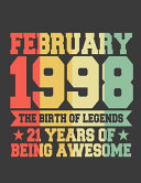 February 1998 the Birth of Legends 21 Years of Being Awesome PDF