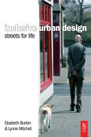 Inclusive Urban Design  Streets For Life PDF
