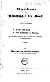 Abhandlungen zur Philosophie der Kunst: Band 4