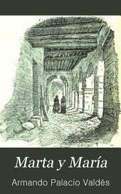 Marta y María: novela de costumbres
