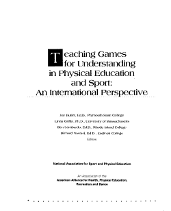 Teaching Games for Understanding in Physical Education and Sport PDF