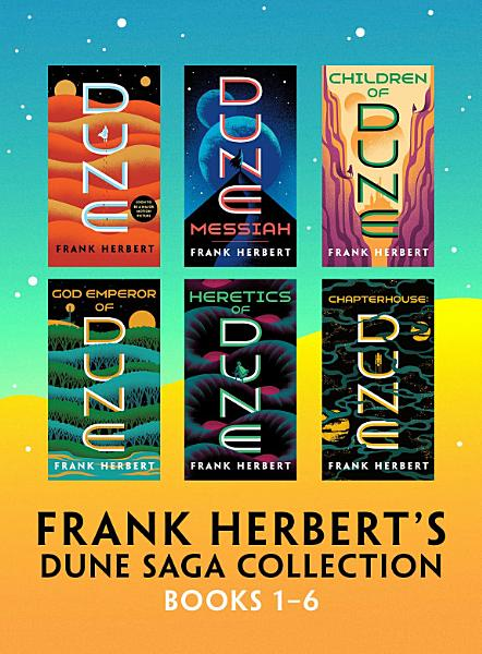 Download Frank Herbert s Dune Saga Collection  Books 1   6 Book