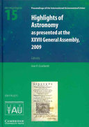 Highlights of Astronomy  Volume 15