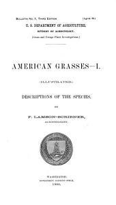 American grasses.--[I-III]: Parts 1-3