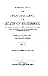 A Compiliation of the Statute Laws of the State of Tennessee: Sec. 1-2745d