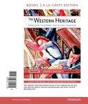 The Western Heritage  Volume 2  Books a la Carte Edition Book