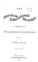 The New York Teacher  and the American Educational Monthly PDF