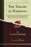 The Theory of Harmony PDF