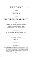 The history of the reign of the emperor Charles V  book VIII XII PDF