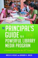 The Principal s Guide to a Powerful Library Media Program PDF