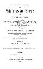 The Statutes at Large and Proclamations of the United States of America from     PDF