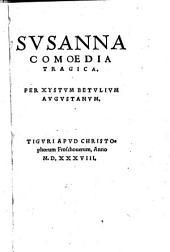 Susanna, comoedia tragica