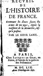 Recueil de l'histoire de France