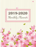 2019-2020 Monthly Planner
