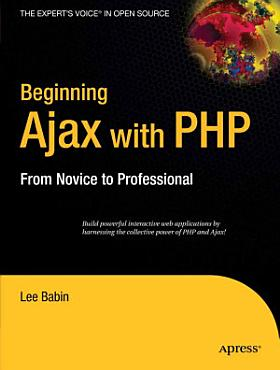 Beginning Ajax with PHP PDF
