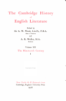 The Cambridge History of English Literature PDF