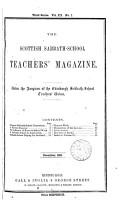 Scottish sabbath school teachers  magazine PDF