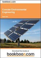 Concise Environmental Engineering PDF