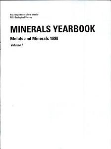 Minerals Yearbook Book